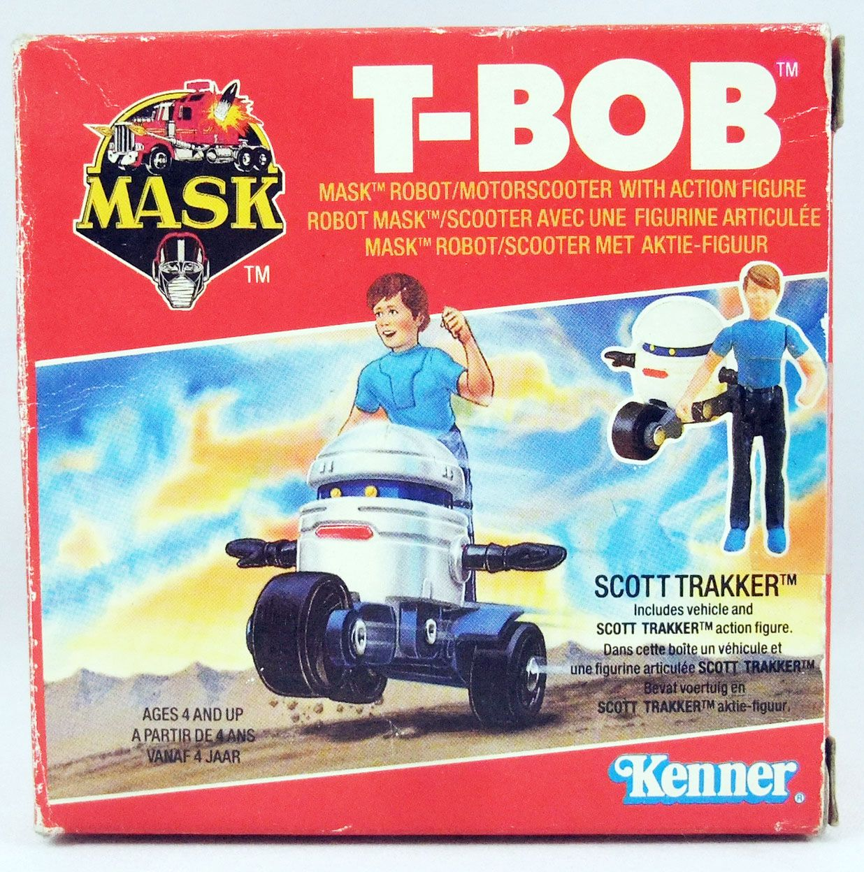 M.A.S.K. - T-Bob with Scott Trakker (Europe)