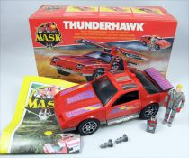 M.A.S.K. - Thunderhawk with Matt Trakker (loose with box)