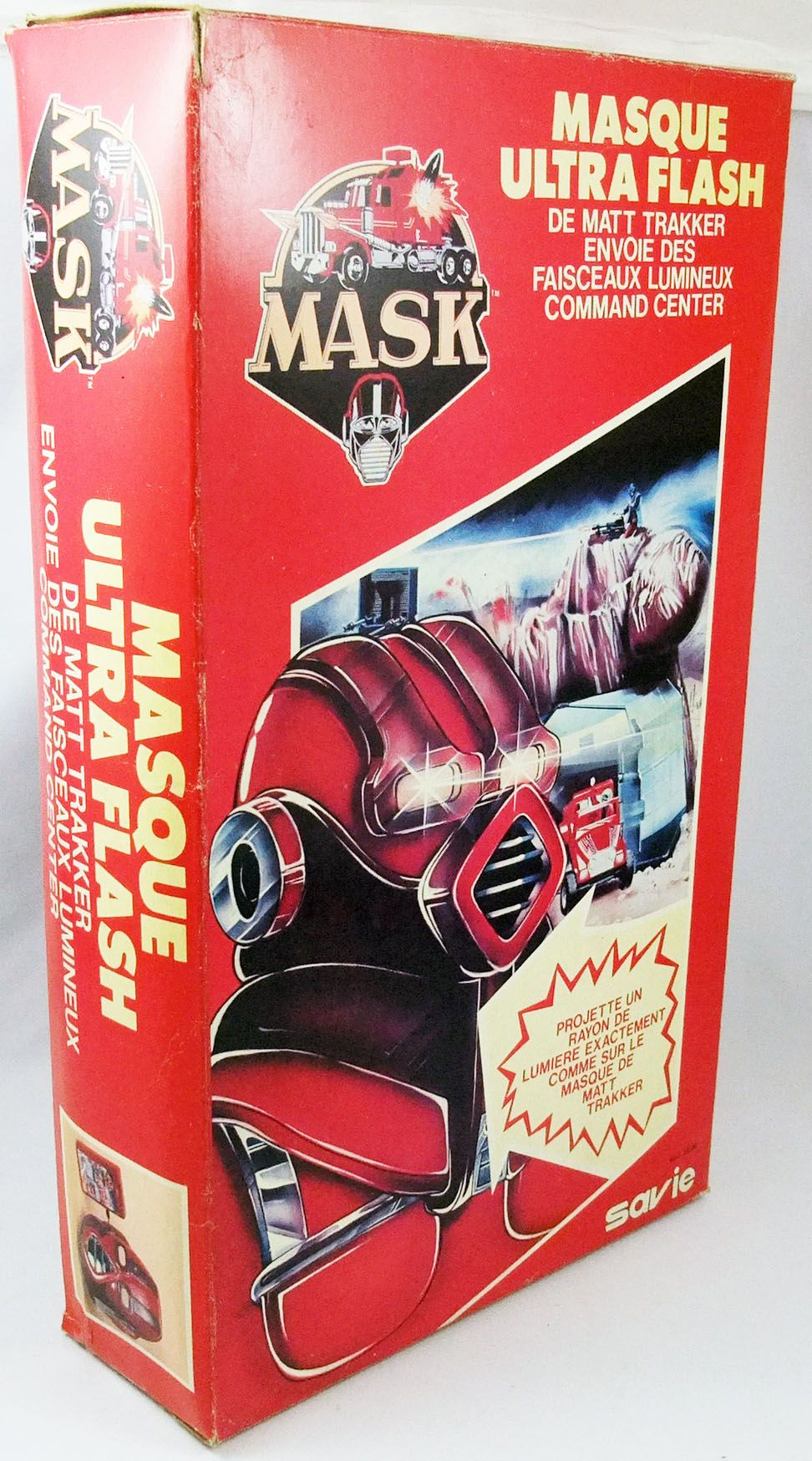 M.A.S.K. - Ultra Flash Mask - Savie (mint in box)