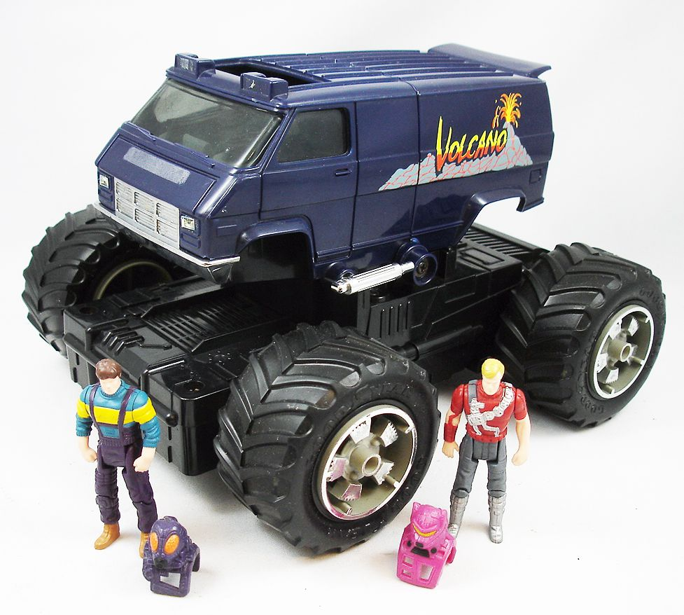 M.A.S.K. - Volcano with Jacques Lafleur & Matt Trakker (loose)