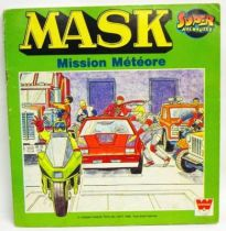 M.A.S.K. - Whitman Super Adventures book : \'\'Mission Météores\'\'