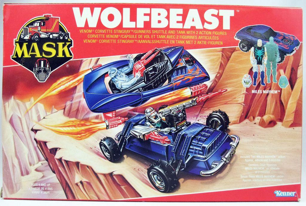 M.A.S.K. - Wolfbeast with Miles Mayhem & Hologram (Europe)