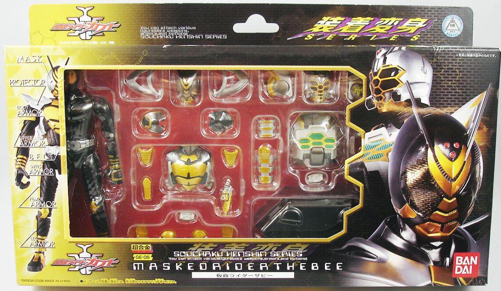 Masked Rider Souchaku Henshin Series - Masked Rider The Bee GE-06 - Bandai