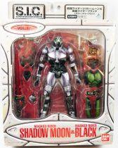 Masked Rider Super Imaginative Chogokin - Vol.17 Masked Rider Shadow Moon & Black - Bandai