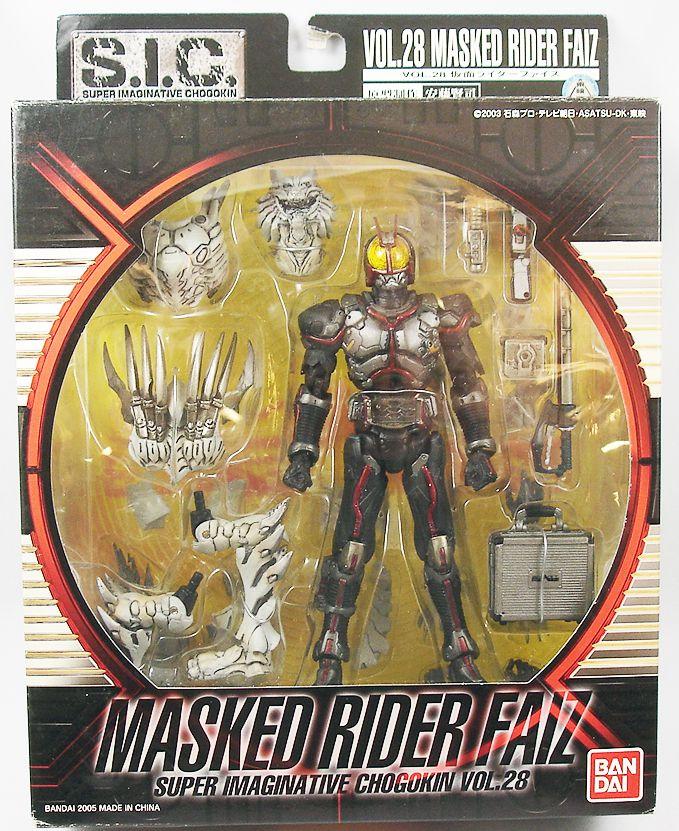 Masked Rider Super Imaginative Chogokin - Vol.28 Masked Rider Faiz - Bandai