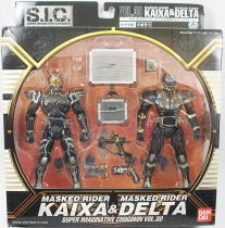 Masked Rider Super Imaginative Chogokin - Vol.30 Masked Rider Kaixa & Delta - Bandai