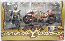 Masked Rider Super Imaginative Chogokin - Vol.40 Masked Rider Agito & Machine Tornador - Bandai