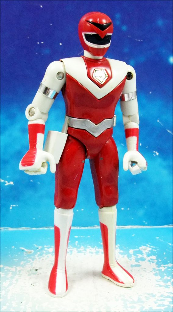 Maskman - Bandai - Force Rouge (loose)