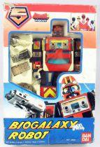 Maskman - Bandai France - Bio Galaxy Robot
