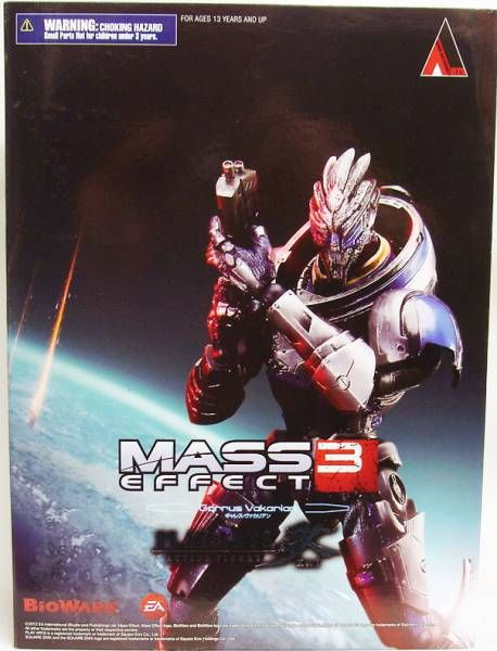 Mass Effect 3 - Garrus Vakarian - Figurine Play Arts Kai - Square Enix