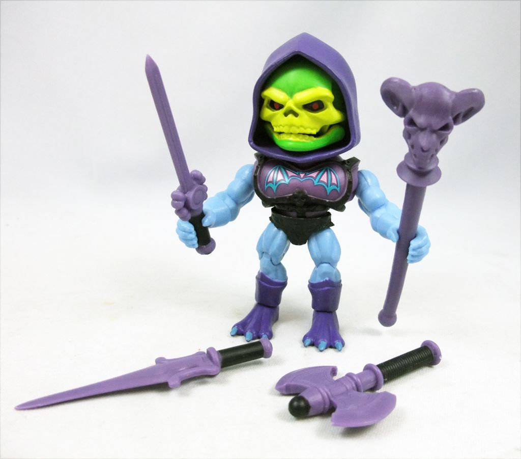 """Masters of the Universe - Action-vinyl - Battle Armor Skeletor \""""wave 2\"""" - The Loyal Subjects"""