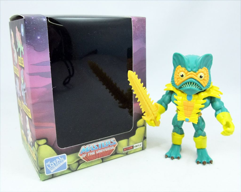 """Masters of the Universe - Action-vinyl - Mer-Man \""""wave 2\"""" - The Loyal Subjects"""