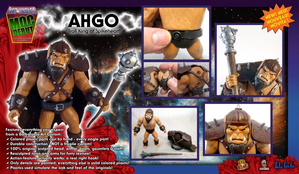 Masters of the Universe - Ahgo (carte Europe) - Barbarossa Art