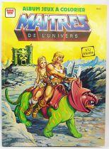 Masters of the Universe - Album de jeux à colorier - Editions Whitman France