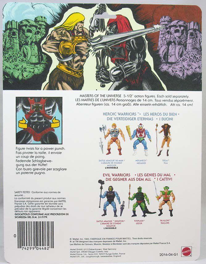 Masters of the Universe - Anti-Eternia He-Man (carte Allemagne avec cassette) - Barbarossa Art