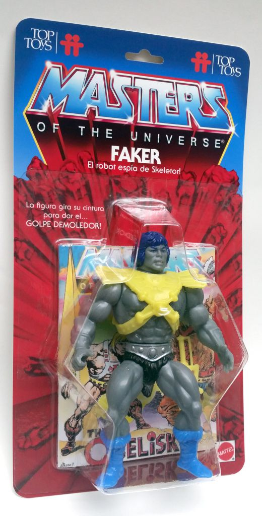 Masters of the Universe - Argentor (carte Top Toys) - Barbarossa Art
