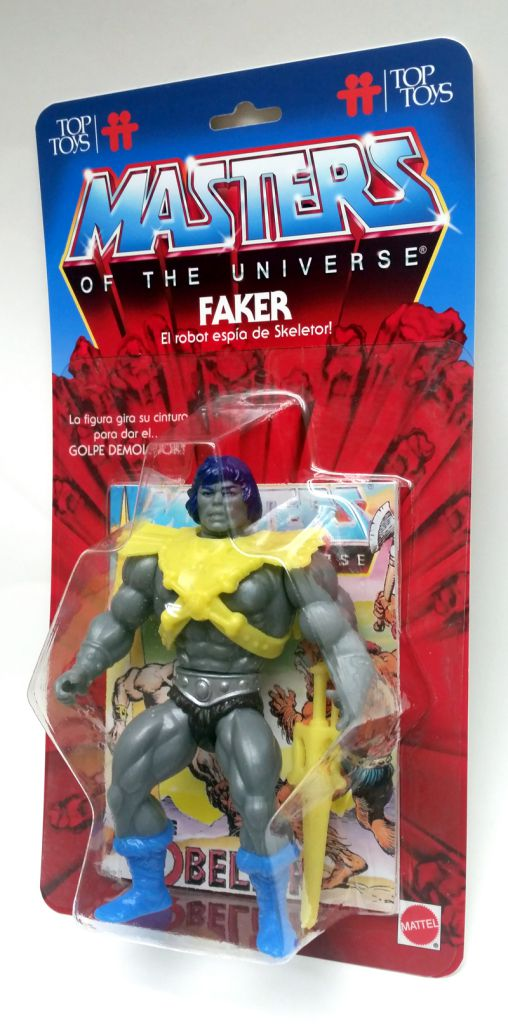 Masters of the Universe - Argentor (Top Toys card) - Barbarossa Art