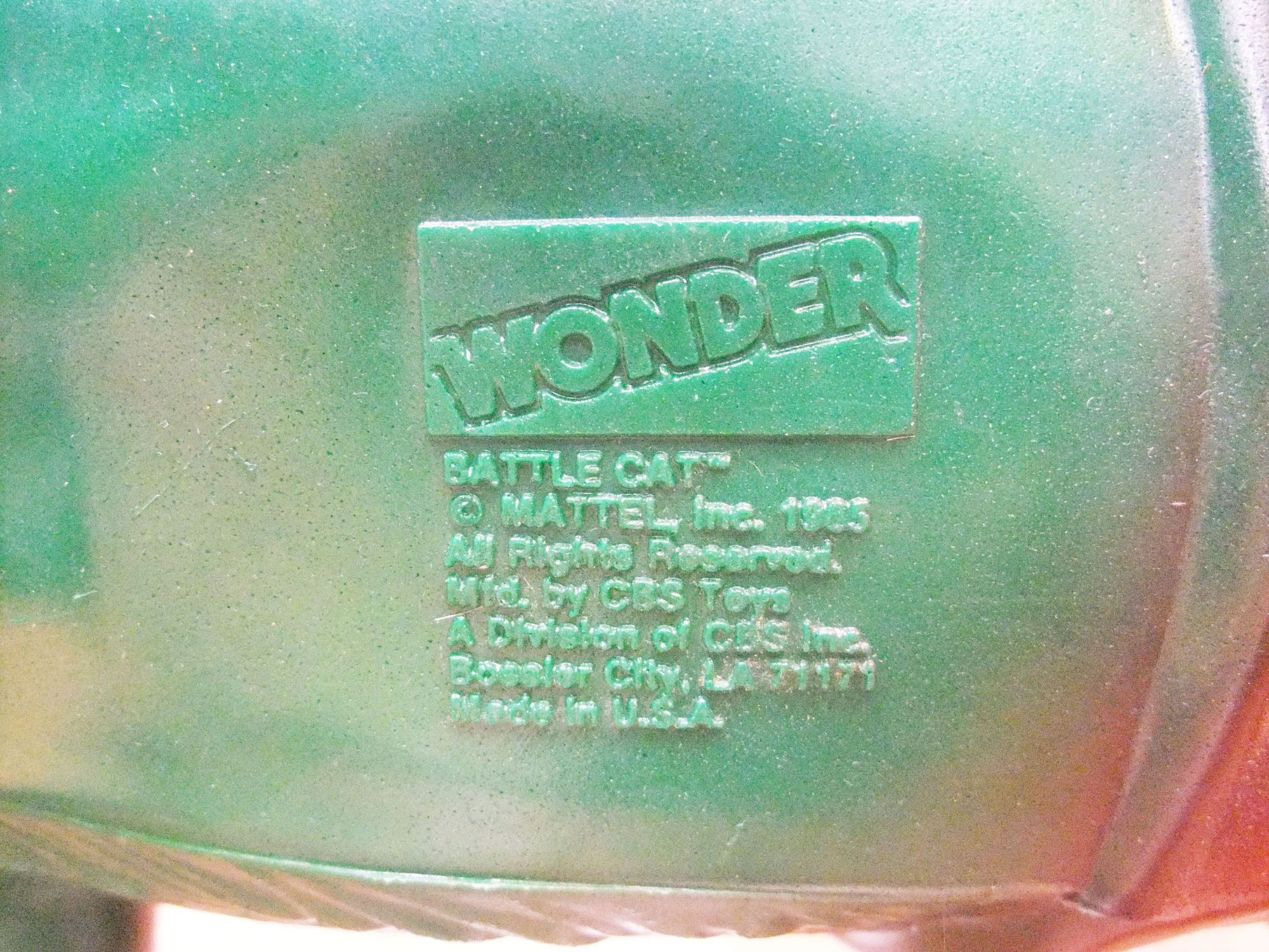 Masters of the Universe - Battle Cat Spring Ride - Wonder 1985