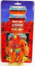 Masters of the Universe - Beast Man / Le Monstre (carte Europe)