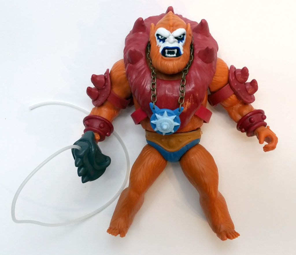 "Masters of the Universe - Beast Man ""New Version\"" (carte USA) - Barbarossa Art"