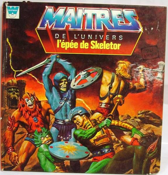 Masters of the Universe - Book - Whitman-France - \'\'L\'épée de Skeletor\'\'