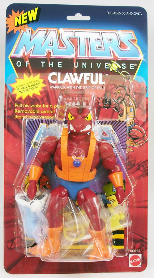 Masters of the Universe - Clawful / Etor \'\'Filmation version\'\' (carte USA) - Barbarossa Art