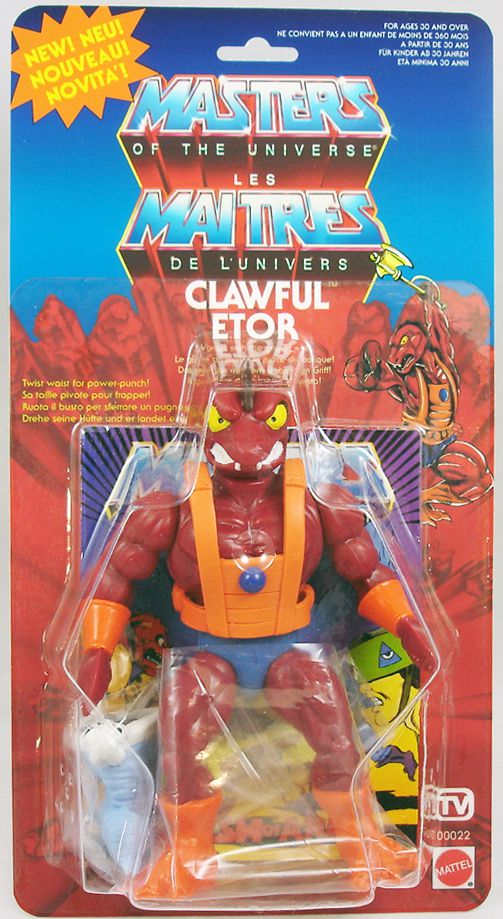 He-Man and the Masters of the Universe New in stock Filmation Clawful