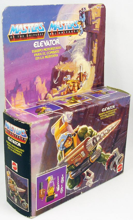 Masters of the Universe - Cliff Climber (Spain box)
