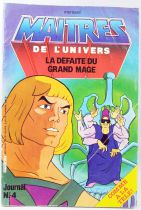 Masters of the Universe - Comic Book - Eurédif - Issue #5 : Defeat of the Great Wizard