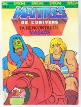 Masters of the Universe - Comic Book - Eurédif - Special Issue #2 Meet Man-E-Faces!