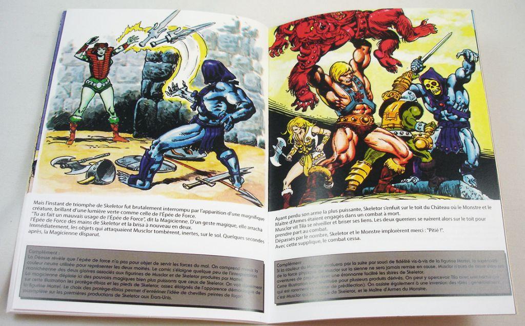 Les Maitres de l\'Univers - Mini-Comic Edition de Luxe Musclor et l\'Epée du Pouvoir (2)