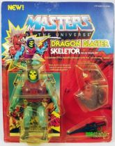 Masters of the Universe - Dragon Blaster Skeletor  Skeletor Paralyzor carte USA