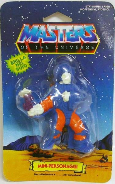 Masters of the Universe - Eraser figure - Stonedar (Mint on card)