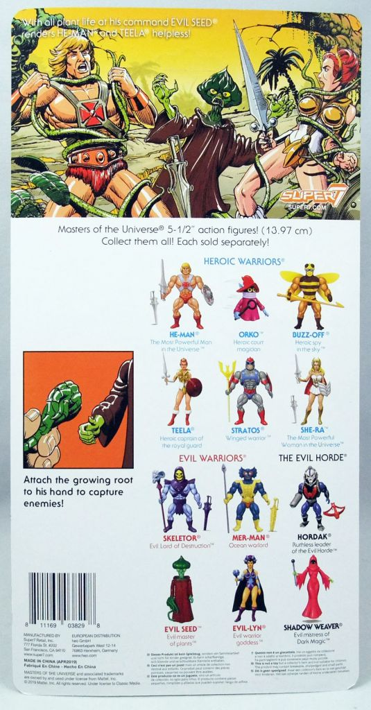 Masters of the Universe - Evil Seed (Filmation New Vintage) - Super7
