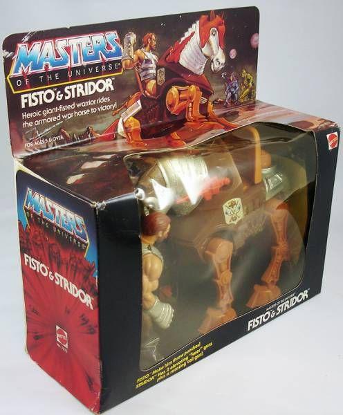 Masters of the Universe - Fisto & Stridor \'\'gift-set\'\' (boite USA)