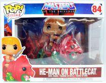 Masters of the Universe - Funko POP! vinyl figure - He-Man on Battle Cat #84