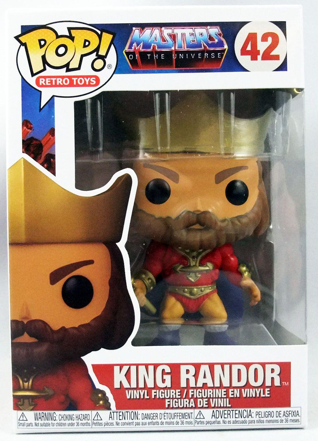 Masters of the Universe - Funko POP! vinyl figure - King Randor #42
