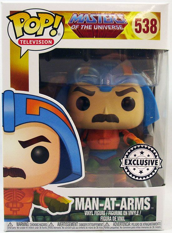 Masters of the Universe - Funko POP! vinyl figure - Man-At-Arms