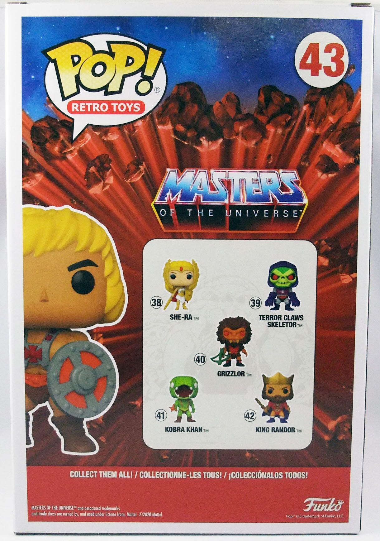 Masters of the Universe - Funko Super Sized POP! vinyl figure - He-Man #43