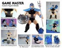 Masters of the Universe - Game Master/ Gladiator (carte USA) - Barbarossa Art