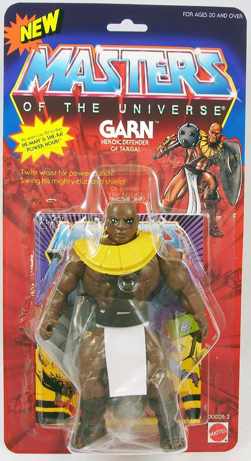 "Masters of the Universe - Garn \""Filmation version\"" (USA card) - Barbarossa Art"
