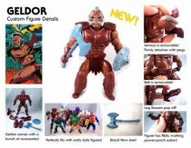 Masters of the Universe - Geldor / Gueldor (carte USA) - Barbarossa Art
