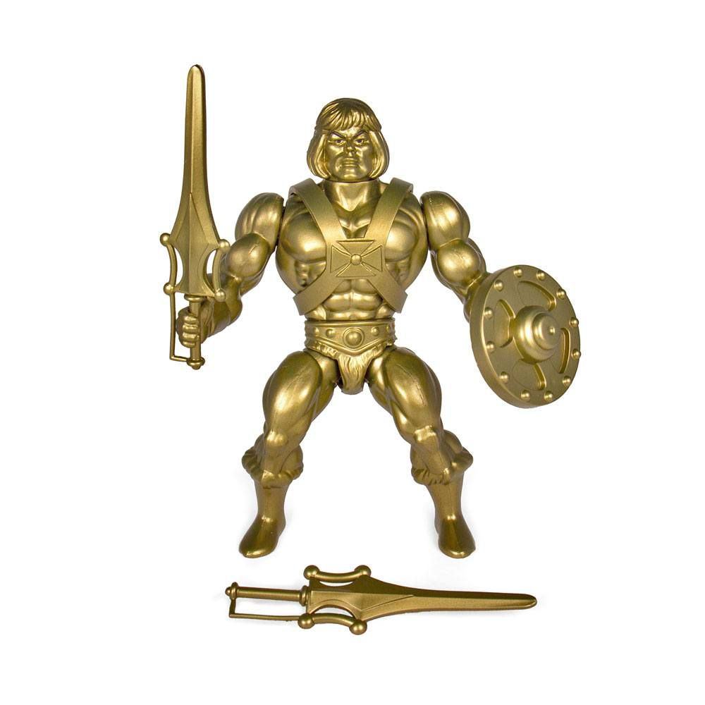 Masters of the Universe - Gold He-Man (Filmation New Vintage) - Super7