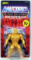 Masters of the Universe - Gold Statue He-Man (Filmation New Vintage) - Super7