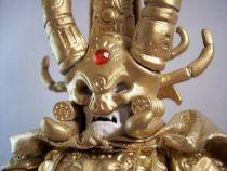 Masters of the Universe - Golden God Skeletor / Skeletor Tout Puissant (carte Europe) - Barbarossa Art