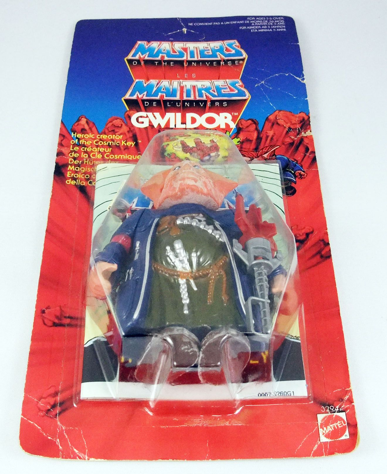 Masters of the Universe - Gwildor (Euro card)