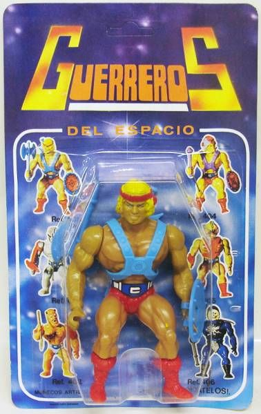 Masters of the Universe - He-Man \'\'Guerreros del Espacio\'\' (Spain card)