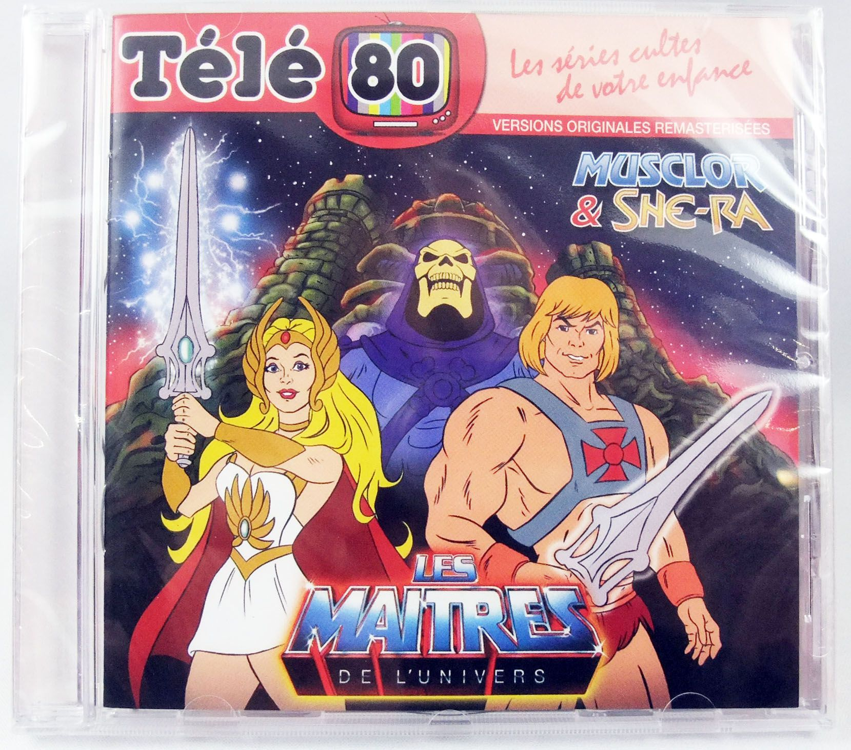 Masters of the Universe : He-Man & She-Ra - Compact Disc - Original TV series soundtrack