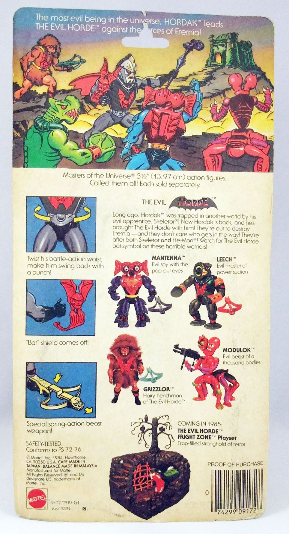 Masters of the Universe - Hordak (carte USA)