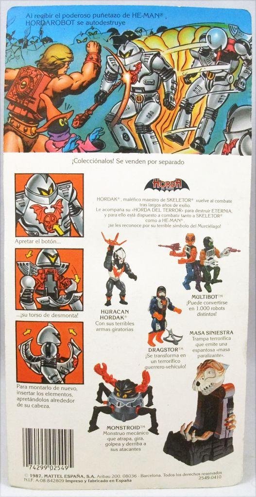 Masters of the Universe - Horde Trooper / Guerrior (carte Espagne)